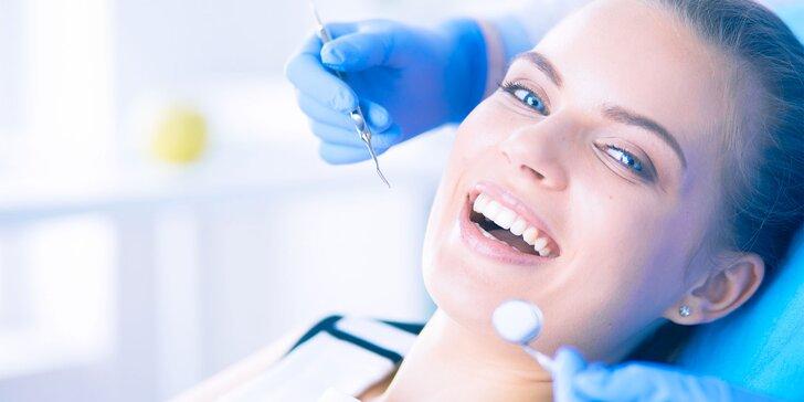 Komplexné vstupné zubné vyšetrenie + kefka Curaprox ako darček a 50% zľava na ďalšie vyšetrenie