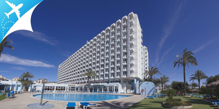 Dovolenka v Španielsku v hoteli priamo na pláži s vonkajším bazénom + letenka v cene