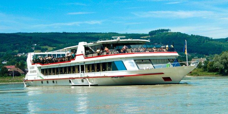 Plavba z Bratislavy do Komárna na vyhliadkovej lodi MS KAISERIN ELISABETH!