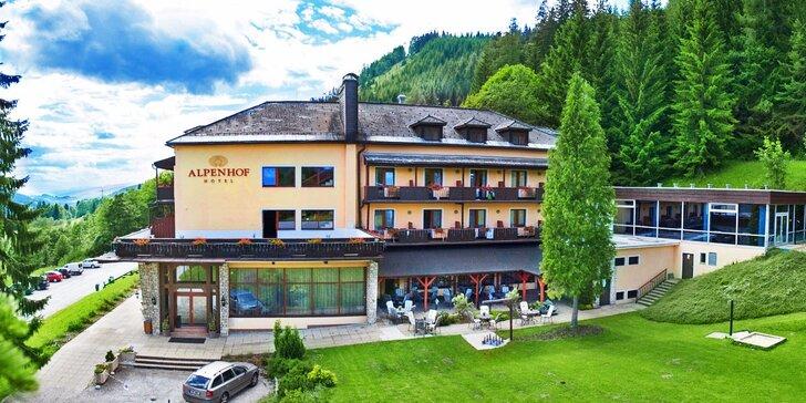 Dovolenka v rakúskych Alpách: pobyt s raňajkami aj vstupom do bazéna