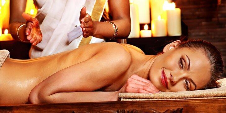 Ayurvédsky balíček Mawathagama alebo celotelový masážny balíček ASANA - kryštál