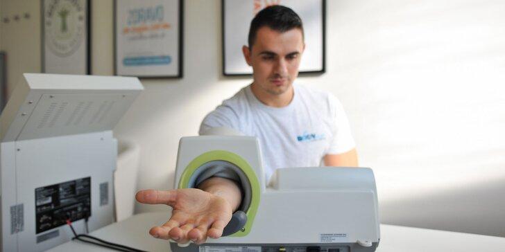 Meranie pomocou prístrojov MaxPulse, InBody 770 a konzultácia výsledkov