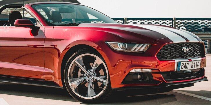 115e5d1f9b Sloboda za volantom najštýlovejšieho kabrioletu Ford Mustang na Slovensku   Prenájom na hodinu až na celý