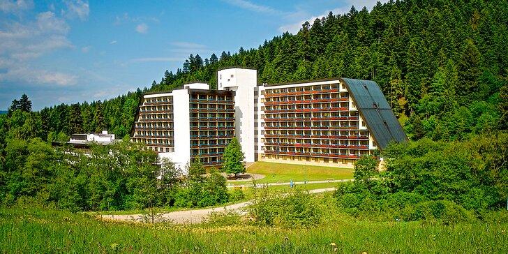 Pobyt v krásnej prírode Ľubovnianskych kúpeľov s minerálnymi prameňmi, bazénom, s procedúrami a športoviskami. Až 2 deti do 15 r. extra zvýhodnenie!