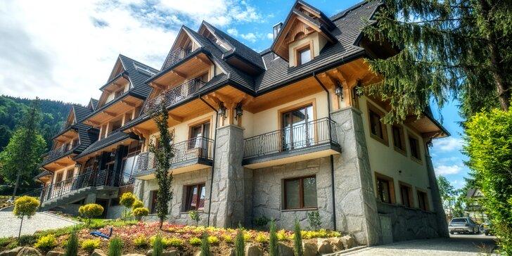 Skvelý oddych v útulnom Hoteli Gold*** v Zakopanom