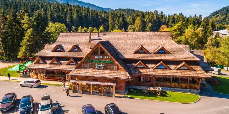 Vychýrený Hotel Strachanovka*** v N. Tatrách v úžasnej Jánskej doline s wellness a množstvom aktivít v blízkosti