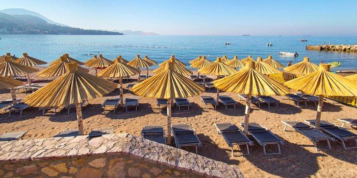 7 nocí v letovisku Sutomore pre pár i rodinu: polpenzia, pláž 100 m od hotela