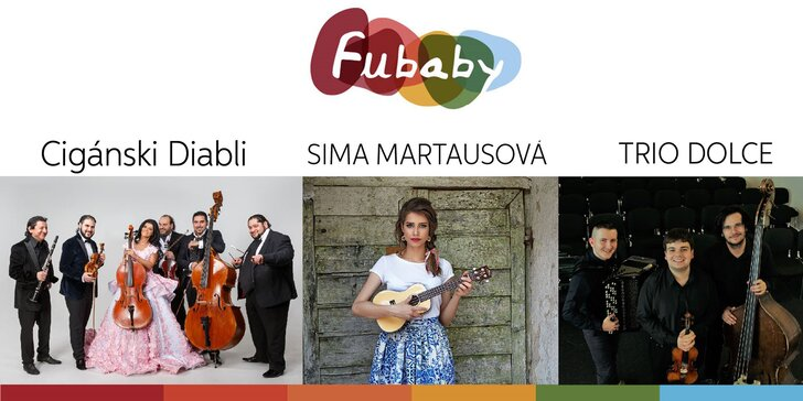 Vstupenka na multižánrový festival FUBABY aj so žetónmi na občerstvenie