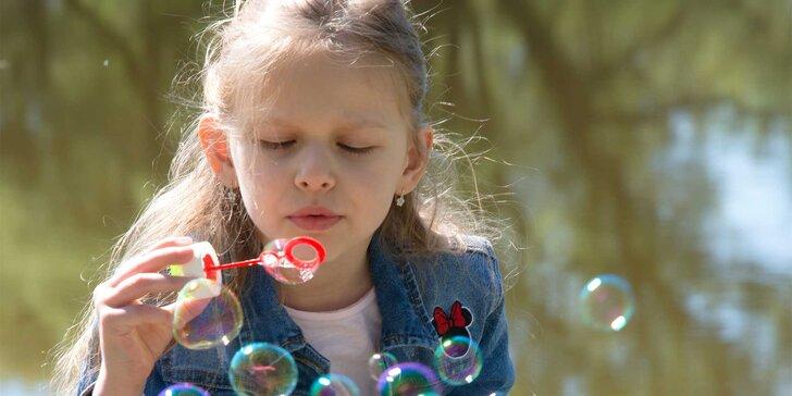 Profesionálne fotografovanie detí v exteriéri