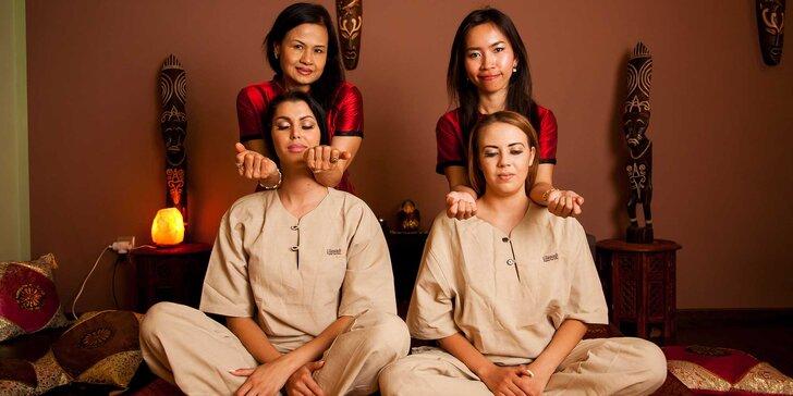 Dokonalé thajské masáže pre páry v LILAWADI Thajské masáže