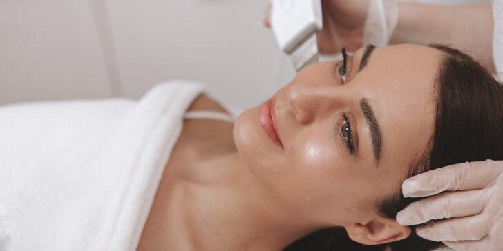 Hĺbkové čistenie pleti Skin Scrubberom alebo Anti-Age ošetrenie