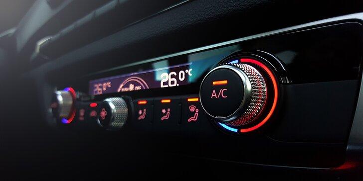 Kompletný servis a plnenie klimatizácie vozidla