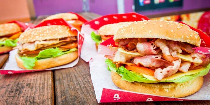 Pochutnajte si na burgeri alebo kebabe podľa výberu v PAPA´S