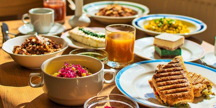 Najedzte sa zdravo! Raňajky, obed, koláčik i burger u Pánov Báklažánov!