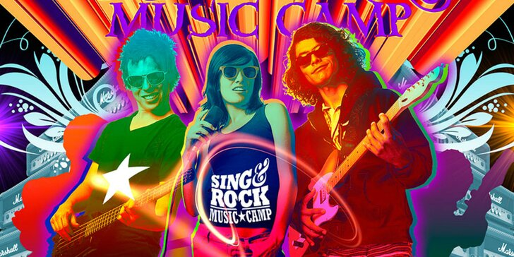 Hudobný tábor SING&ROCK s hudobnými osobnosťami a kapelami