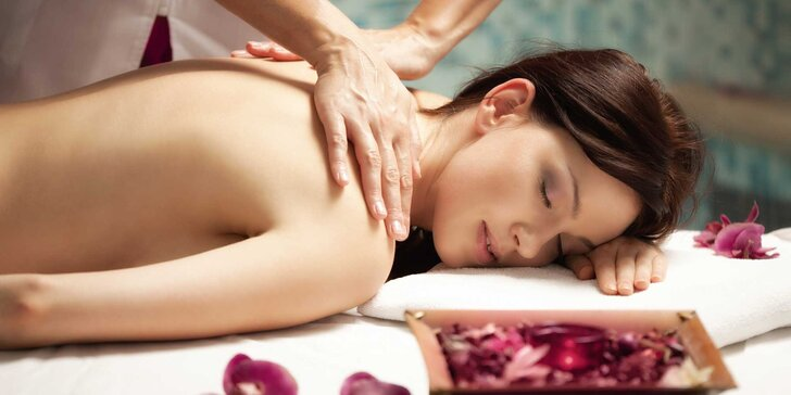 Klasická olejová masáž či reflexná masáž chodidiel v Golden Relax