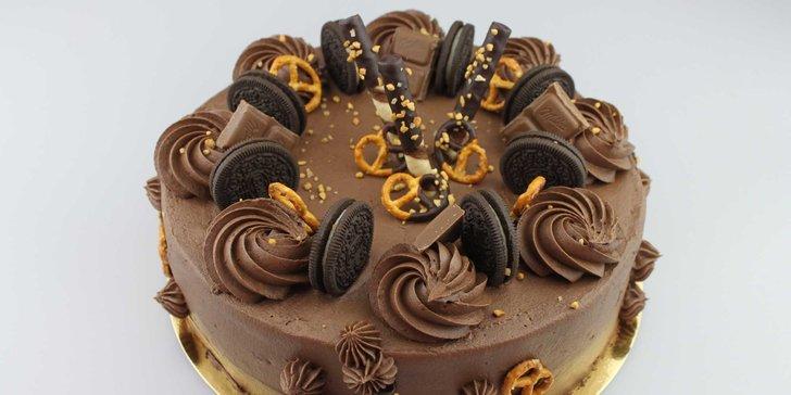 Krásne torty z Cukrárne u babičky: na výber z troch druhov