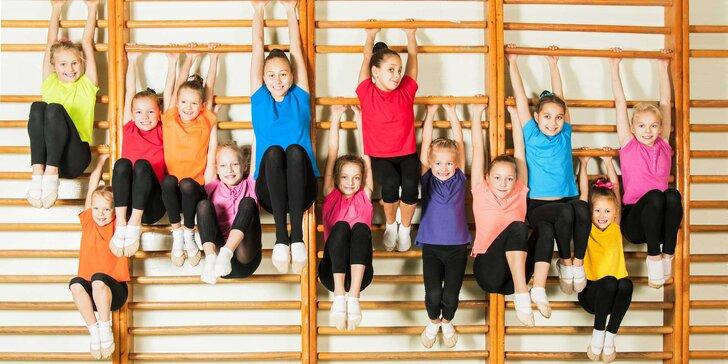 Denný parkourový, gymnastický alebo cheerleading tábor pre deti