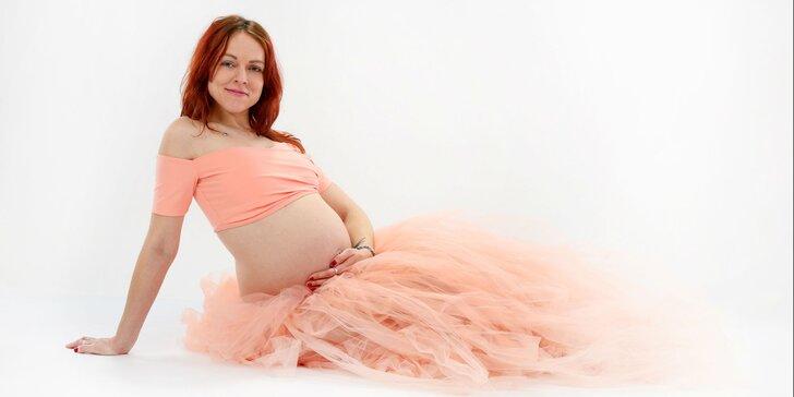 Umelecké fotenie detí či tehotných dám