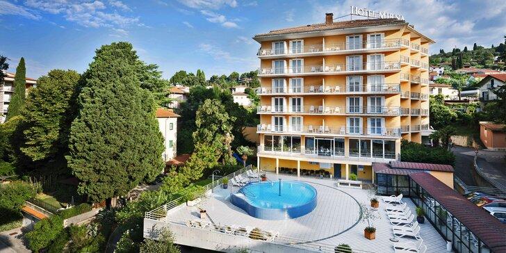 Za krásami Slovinska: 4* hotel blízko mora, polpenzia a bazény neobmedzene