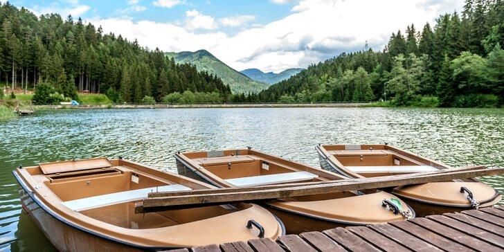 Letná dovolenka v Hrabovskej doline v hoteli Hrabovo** priamo pri vodnej nádrži
