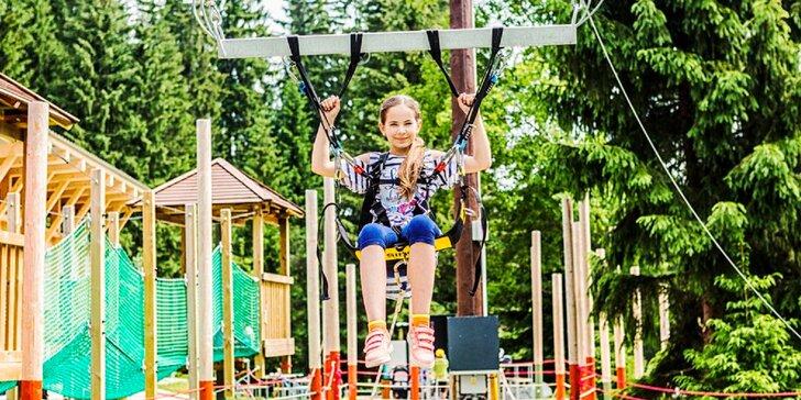 FUNNY PARK: Zábavný park pre deti aj dospelých. Zažite hojdačku lesa!