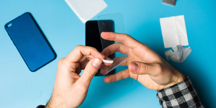 Prémiové 3D ochranné sklo pre váš iPhone vrátane nalepenia