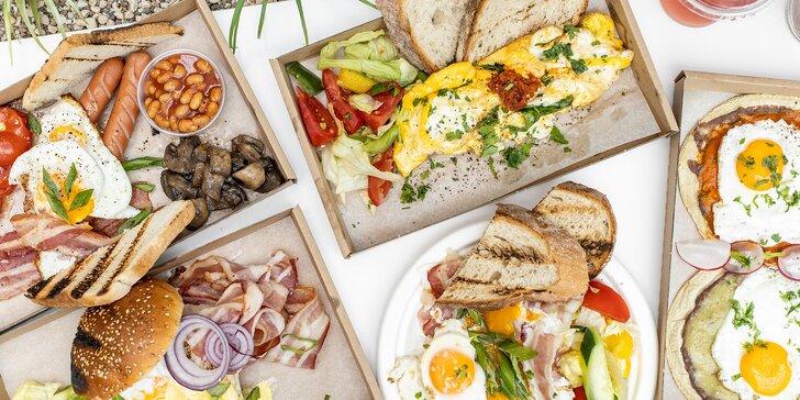 Raňajky, ktoré naštartujú váš deň! Vyberte si z menu!