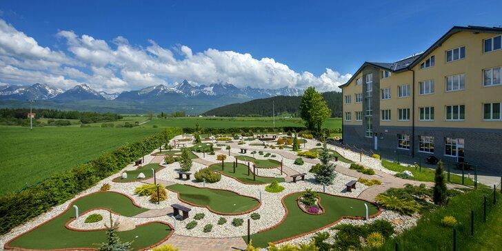 Wellness pobyt pod Vysokými Tatrami v hoteli Končistá ****
