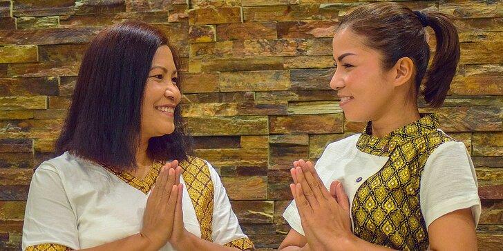 Tradičná alebo aroma olejová thajská masáž - 60 minút