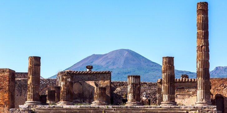 Krásy južného Talianska: Rím, Neapol, Vezuv, Pompeje, Herculaneum, Caserta aj Capri