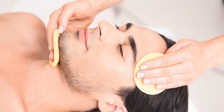 Hĺbkové čistenie pleti pre pánov aj s ozónoterapiou