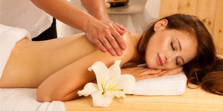 Celotelové relaxačná alebo hĺbková klasická masáž