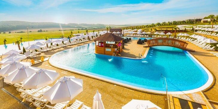 Exotická dovolenka v Miraj Resort**** s wellness a letným morským kúpaliskom s tobogánmi a atrakciami