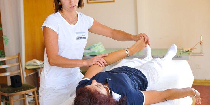 Permanentka na rehabilitácie a cvičenie s fyzioterapeutom