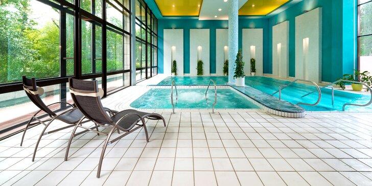 Kúpeľný pobyt s procedúrou a neobmedzeným vstupom do vodného a saunového sveta v Esplanade Ensana Health Spa Hotel****