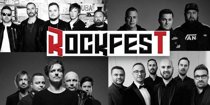 Vstupenka na rockový festival ROCKFEST v Nitrianskom Rudne 2.8. - 4.8.2019