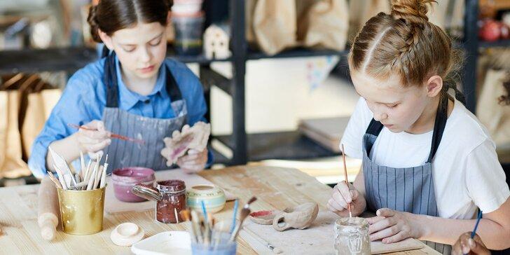 Tanečný, výtvarný a tvorivý denný tábor pre deti v Žiline