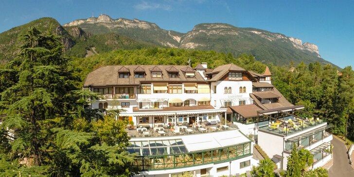 Letná dovolenka v 4* hoteli vo vinárskej oblasti: Južné Tirolsko s wellness a aktivitami