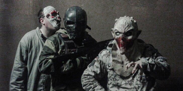 """Zachráňte svet pred zombíkmi v únikovej hre """"Zombie night"""" s laser tag"""
