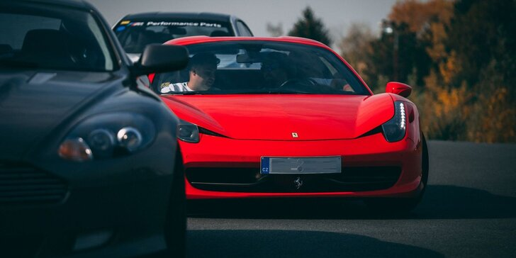Vzrušujúca jazda na tých najexkluzívnejších autách! Palivo v cene!
