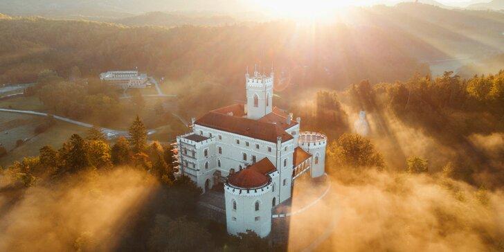 Letný pobyt plný romantiky v chorvátskom hoteli Trakošćan****