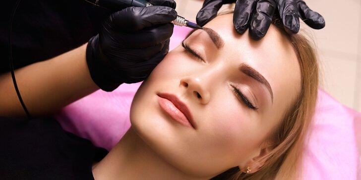 Permanentný make up obočia, očných liniek a pier
