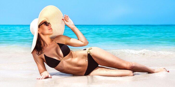 Získajte balíček pre zdravé a krásne opálenie - solárium i opaľovacie krémy