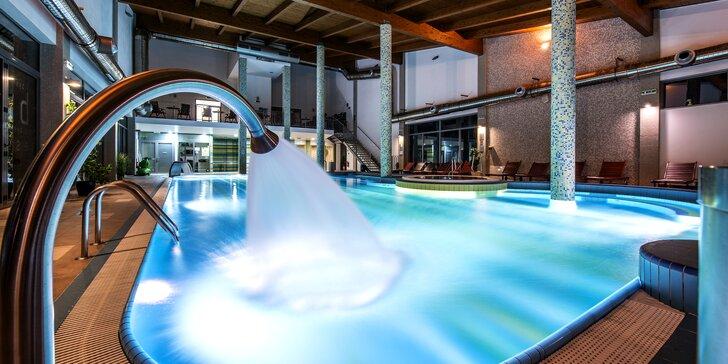 Luxusný Hotel Bystrá*** s TOP neobmedzeným vodným a saunovým svetom v nádhernej doline Nízkych Tatier pod Chopkom