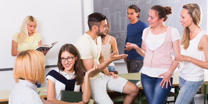 Letné mesačné kurzy angličtiny, nemčiny a španielčiny