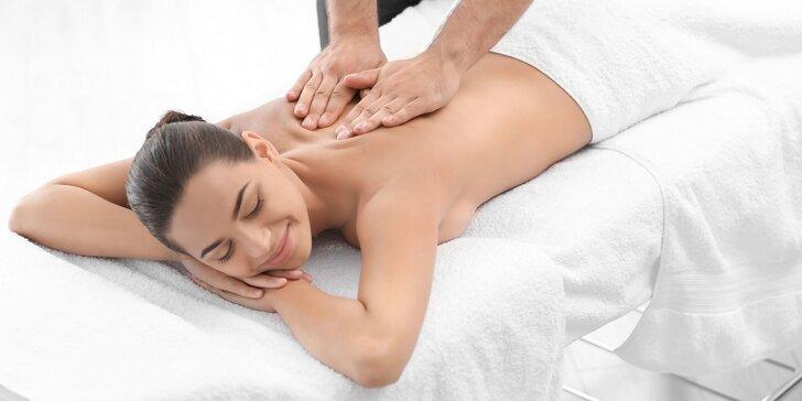 Relax pre telo i myseľ s 3 druhmi masáží a lymfodrenážou
