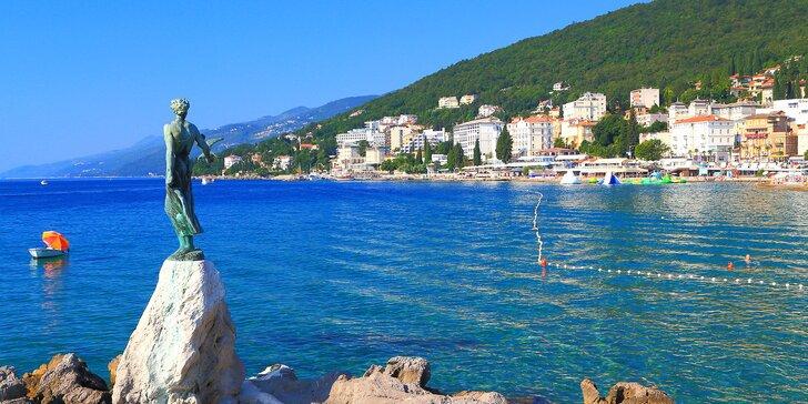 Dovolenka v Istrii v Chorvátsku: ubytovanie v modernom apartmáne s terasou