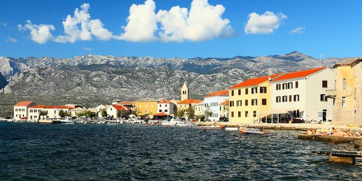Krásy severnej Dalmácie: až 8 dní v apartmáne s výhľadom na more a hory