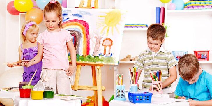 Denný hudobno-výtvarný tábor ART & SING & PLAY pre malých umelcov